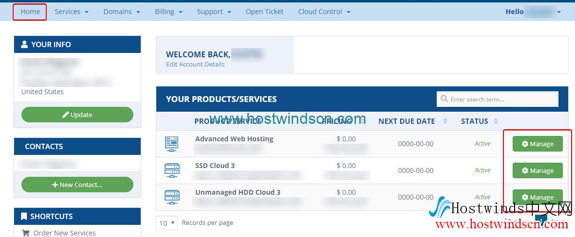 Hostwinds服务取消