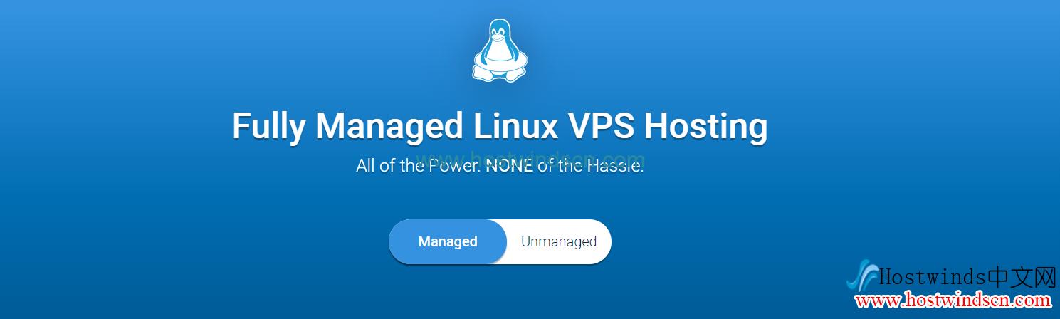 Hostwinds Managed VPS和Unmanaged VPS区别与选择建议
